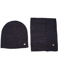 TOM TAILOR Herren Mütze Set Beanie And Loop/512