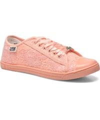 Molly Bracken - Derby strass - Sneaker für Damen / rosa