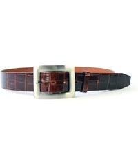 Dámský kožený opasek Penny Belts 108 hnědý