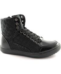 Turnschuhe 1231 schwarze Schuhe Frau Turnschuhe Innentasche mit Reißversch von Laura Biagiotti
