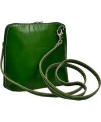 2baa6af5a9b2 NovaKabelka.cz malá zelená kabelka přes rameno Grana Verde
