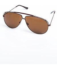 PAPS Hnědé sluneční brýle Flo