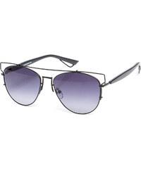PAPS Černé ombre sluneční brýle Cally