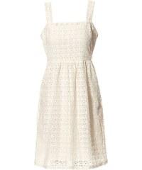 Idano Kleid mit geradem Schnitt - naturweiß