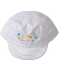 C&A Baby-Mütze in weiß / Blau