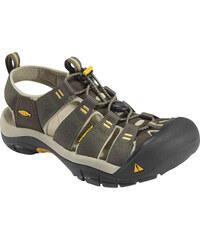 Pánské outdoorové sandály KEEN Newport H2 M raven/aluminum