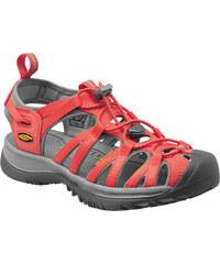 Dámské sandály KEEN Whisper W hot coral/neutral gray