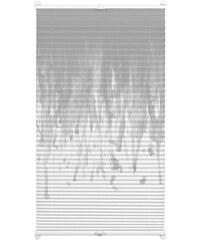 Gardinia Plissee Easyfix Swedish Moments Rainfall Faltenstore Lichtschutz Fixmaß ohne Bohren grau 1 (H/B: 130/50 cm),2 (H/B: 130/60 cm),3 (H/B: 130/70 cm),4 (H/B: 130/80 cm),5 (H/B: 130/90 cm)