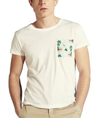 Cavalier Bleu T-shirt - blanc
