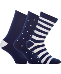WeSC Dott Block Socken blue icon
