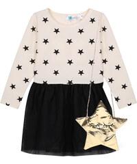 Lesara Kinder-Kleid mit Stern-Accessoire - 80