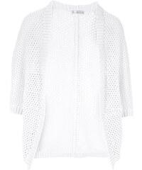 RAINBOW Cardigan in weiß für Damen von bonprix