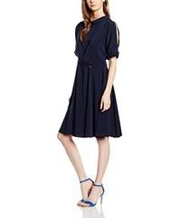 Closet Damen Kleid Split Sleeve Full Collar