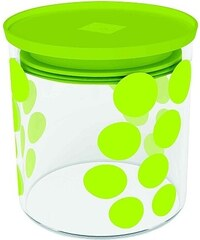 ZAK! designs - Dot dot dóza S 0,65 l, varné sklo/PP, zelená (0204-850)