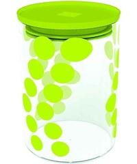 ZAK! designs - Dot dot dóza M 0,9 l, varné sklo/PP, zelená (0204-860)
