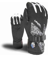 ski rukavice LEVEL - Freedom Jr Gore-Tex Pk Black (43)