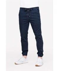kalhoty REELL - Reflex Pant Blue-Black (BLUE-BLACK)