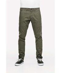 kalhoty REELL - Flex Tapered Chino 160 Olive (OLIVE)