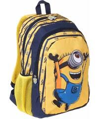 Minions Rucksack gelb in Größe UNI für Jungen aus 100 % Polyester