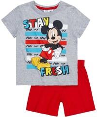 Disney Chlapecký set s Mickey Mouse - šedý