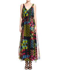ATTIC AND BARN multicolor joplin long dress