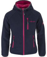 Trollkids Dívčí fleecová bunda Borgund - růžovo-modrá
