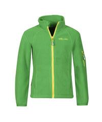 Trollkids Dětská fleecová bunda Arendal - zelená