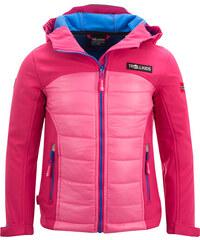 Trollkids Dětská outdoorová bunda Lysefjord - růžová