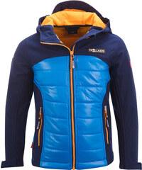 Trollkids Chlapecká softshellová bunda Lysefjord - modrá