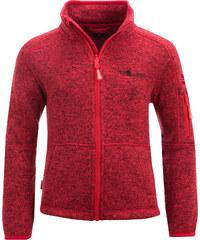 Trollkids Dětská fleecová bunda Jondalen - červená