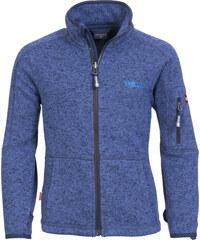 Trollkids Dětská fleecová bunda Jondalen - modrá