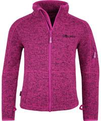 Trollkids Dívčí fleecová bunda Jondalen - tmavě růžová