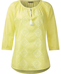 Street One - Blouse en coton Elina - citro yellow