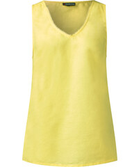 Street One Leinen-Top Eileen - citro yellow, Damen