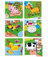 WOODY Kubus 3x3 Zvířata