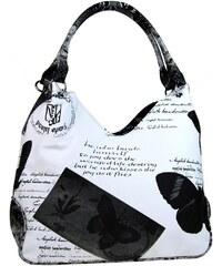 Kabelka Mahel 1593 černobílá