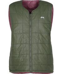 Stüssy Quilted Reversible veste sans manches olive