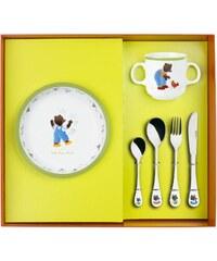 Guy Degrenne Petit ours brun - Coffret vaisselle et couverts - bicolore