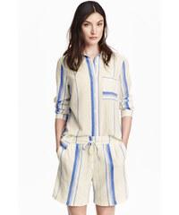 H&M Bavlněné šortky
