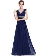 Ever Pretty šaty dlouhé elegantní tmavě modré 8697 5678d39a78