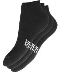 Sizeer Kotníkové Ponožky 3ppk Black ženy Doplňky Ponožky Sisk4901