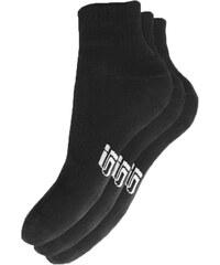 Sizeer Ponožky Nízké 3ppk Black ženy Doplňky Ponožky Sisk3901