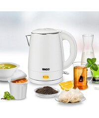 UNOLD® Wasserkocher Blitzkocher White 18320, 1 Liter, max. 2.200 Watt