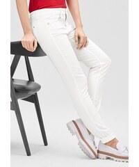 s.Oliver PREMIUM Slim: Jeans aus Baumwollsatin