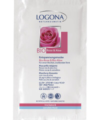 Logona Bio-Rose & Bio-Aloe Maske 15 ml