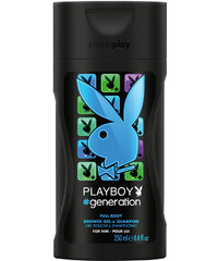 Playboy #generation men Duschgel 250 ml