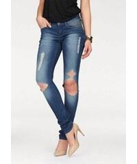 Melrose Damen Destroyed-Jeans blau 32,34,36,38,40,42,44