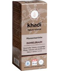 Khadi Dunkelbraun Pflanzenhaarfarbe 100 g