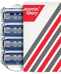 Mornin' Glory Alpha - 4 Klingen Rasierklingen 1 Stück