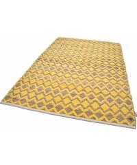Tom Tailor Teppich Geometric handgewebt goldfarben 3 (B/L: 140x200 cm),31 (B/L: 65x135 cm),4 (B/L: 160x230 cm)